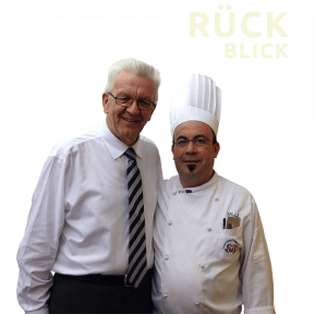 Da Michele - Catering | Winfried Kretschmann & Michele Natoli
